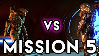 MASTER CHIEF vs SPARTAN LOCKE Mission 5 Unconfirmed