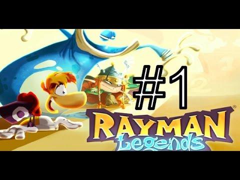 [PS3]Rayman Legends  Прохождение #1 Кооператив