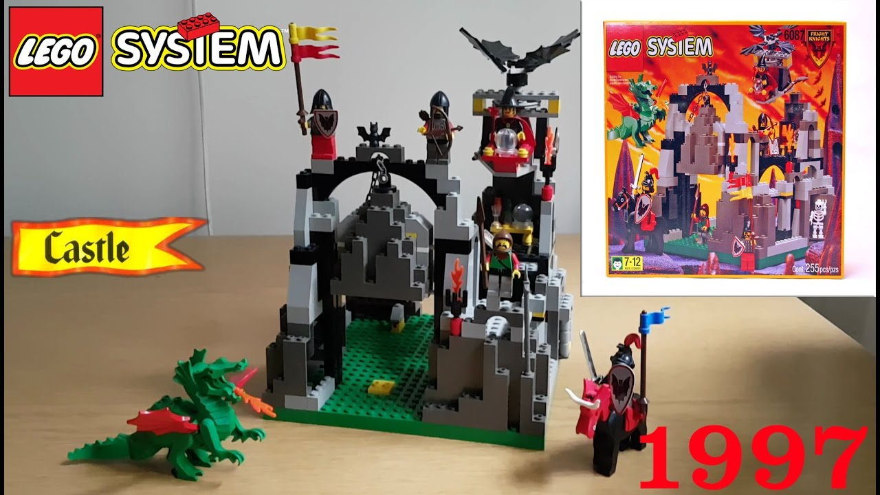 Lego Castle 6087 Witch Hideaway 1997 Review Youtube