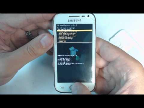 Samsung Ace 2 I8160P hard reset