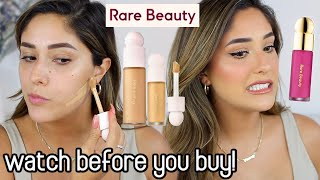 RARE BEAUTY BY SELENA GOMEZ REVIEW AND TEST WEAR | UNBIASED REVIEW!