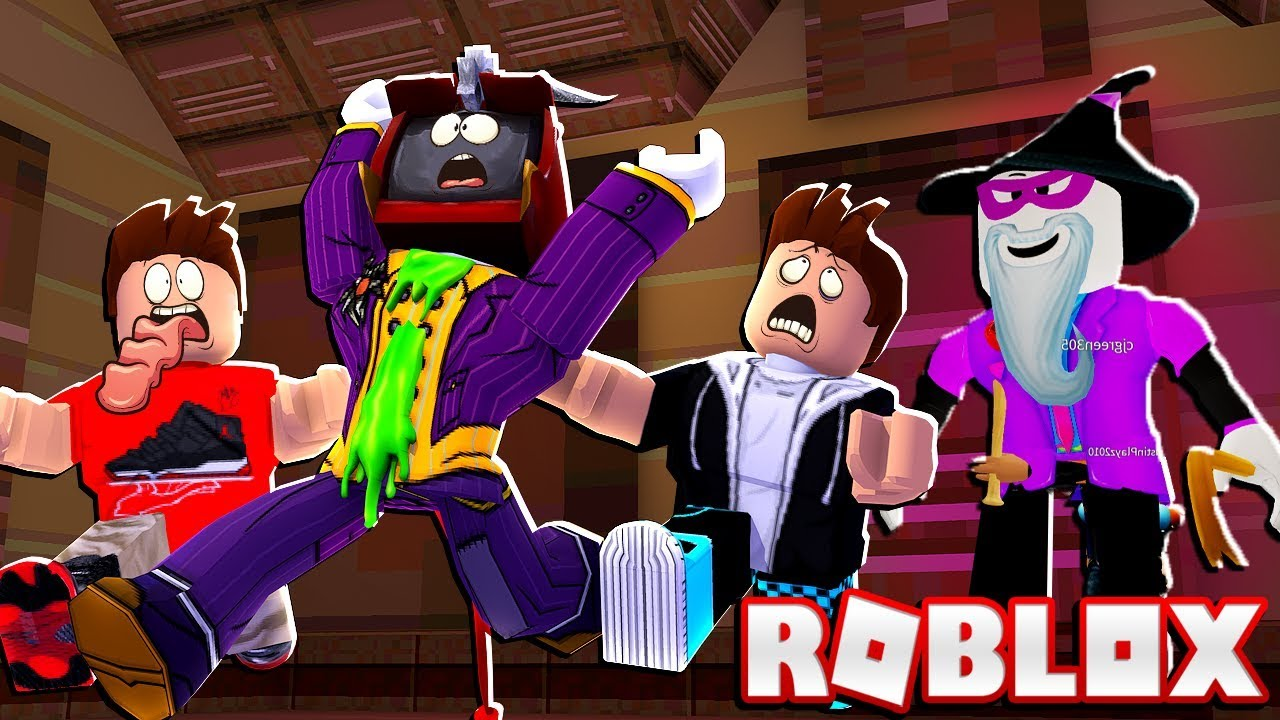 Stop Scary Larry Leave Us Alone In Roblox Break In Youtube