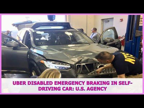 US BREAKING NEWS | Uber disabled emergency braking in self-driving car: U.S. agency