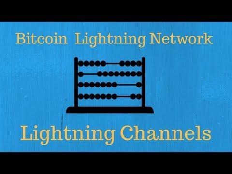 How Bitcoin Lightning Channels Work