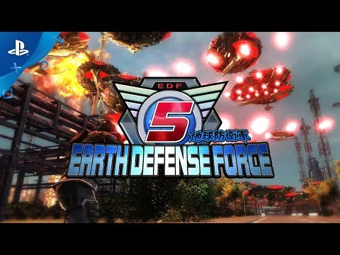 Earth Defense Force 5 выйдет на ПК в конце июля