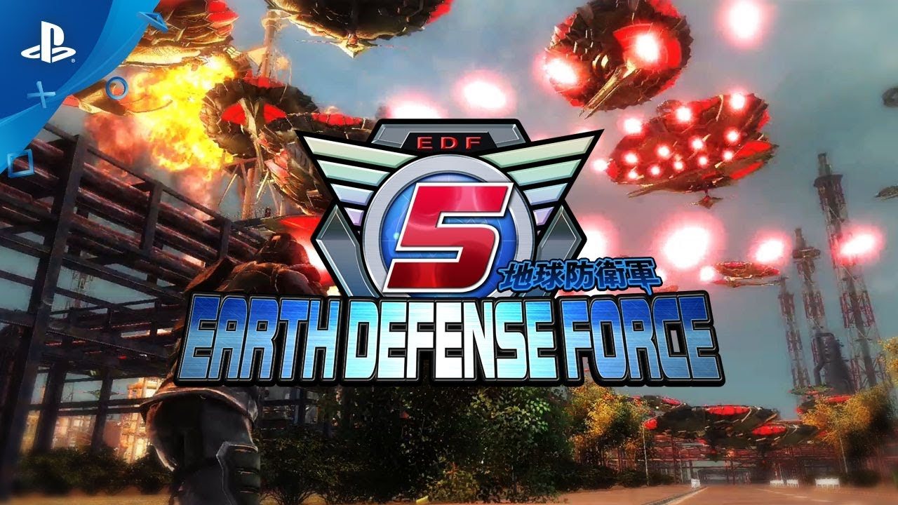 Earth Defense Force 5 - 1st Trailer | PS4
