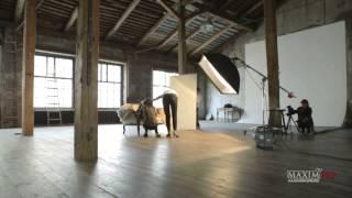 видео Анна Кастерова снялась в журнале «Максим»