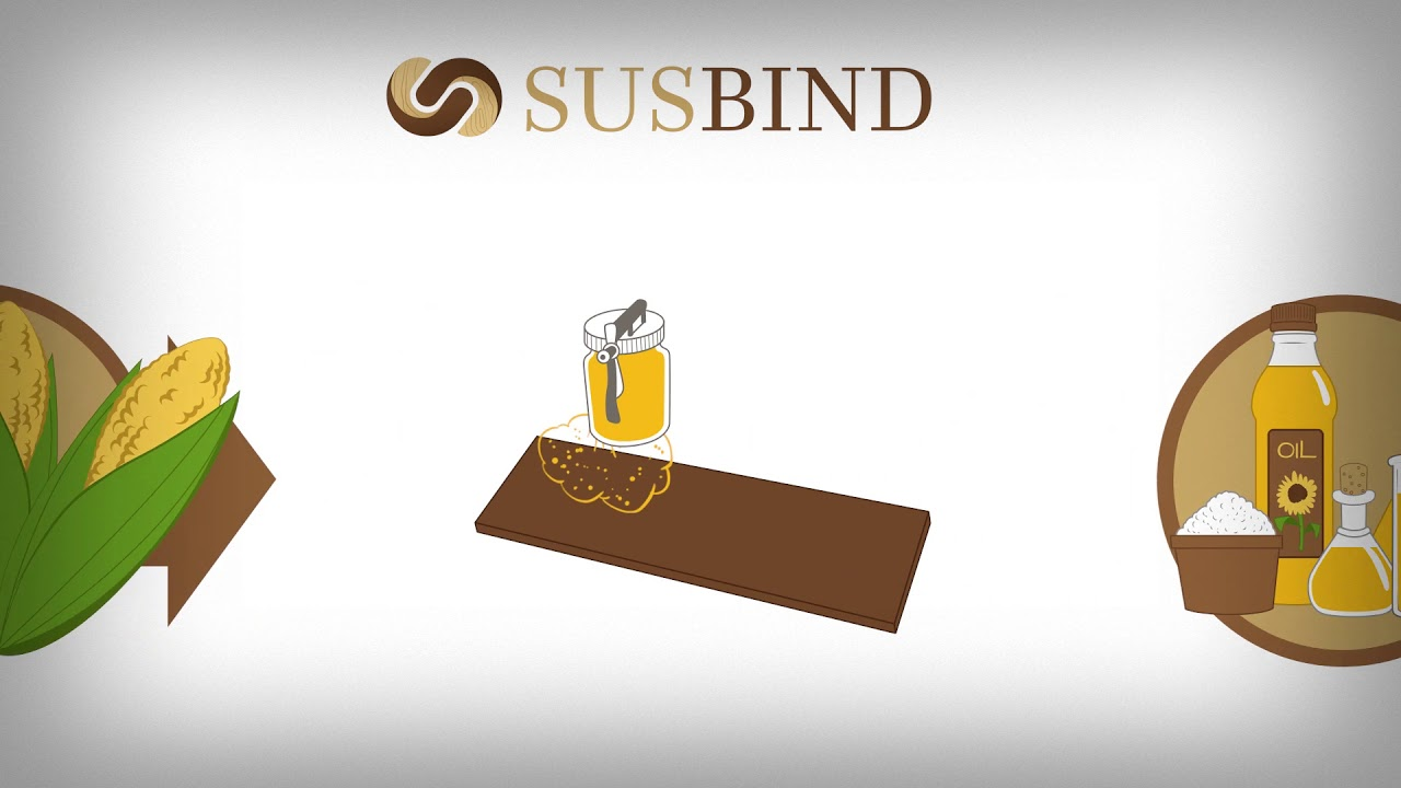 SUSBIND - SUStainable bio BINDers for wood panels