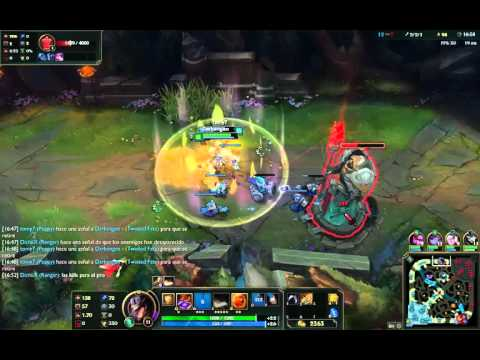Twisted fate mid ad - YouTube