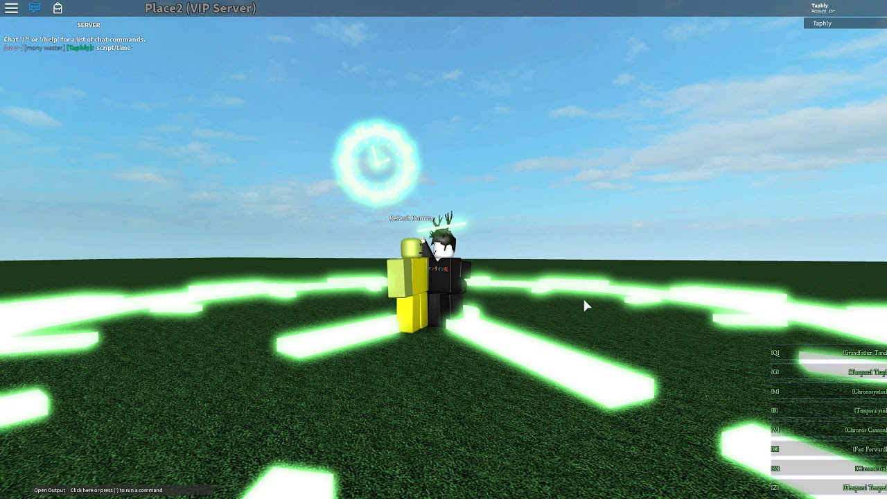 Roblox Script Showcase Chronos Sentinel By Taphly