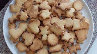 Песочное печенье. Песочное печенье для детей.