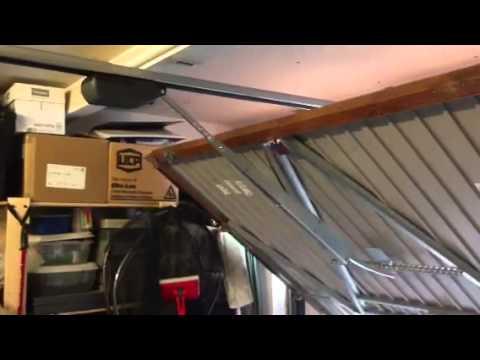 Henderson garage door conversion & Henderson garage door conversion - YouTube
