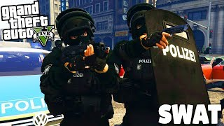 GTA 5 Polizei Mod - SWAT in Los Santos! / SEK - Deutsch - Grand Theft Auto V LSPDFR