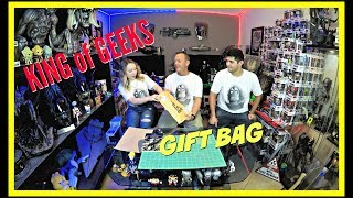 Josh The King of Geeks sent us a gift bag!!  | Guru Reviews