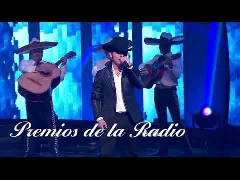 """Christian Nodal """"Me Dejé Llevar"""" y """"Probablemente""""  Premios de la Radio 2017"""