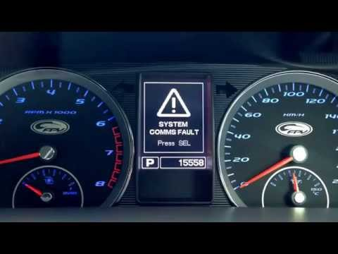FPV system comms fault error F6 Ford
