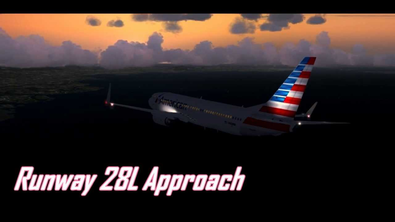 Hd Fsx American Airlines Dallas To San Francisco Youtube