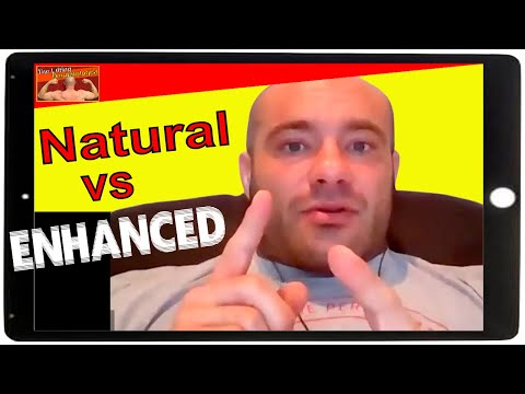 Mike Israetel: Differences between Natural vs Enhanced Training and Nutrition