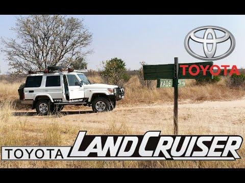 Toyota Land Cruiser Solo crossing of the the Kalahari-Pt1