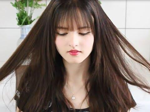 Tự cắt tóc mái thưa cực đơn giản tại nhà chỉ trong 2 phút  –  Kênh bí mật Eva