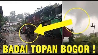 Download Video Ngerinya ! Penampakan Badai Angin Puting Beliung di Bogor MP3 3GP MP4