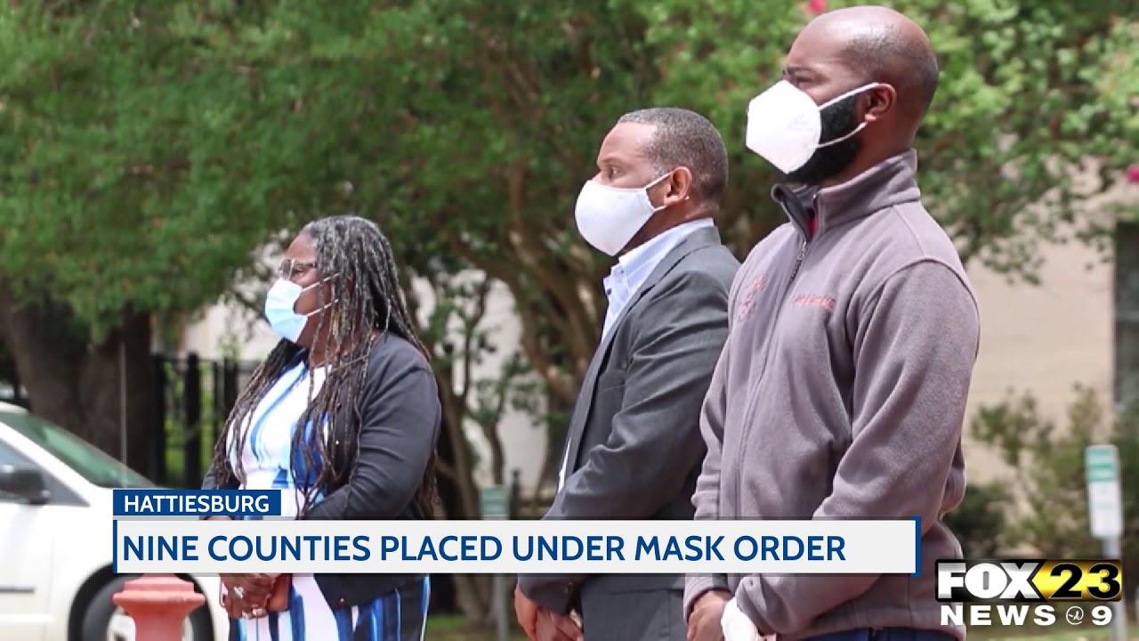 Gov. Reeves places nine counties under mask order