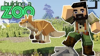 I'm Building A Zoo In Minecraft! - First Exhibit Complete! - EP02