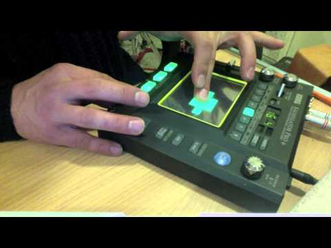 The AIRA  works with KORG KAOSSILATOR PRO +  real time music production
