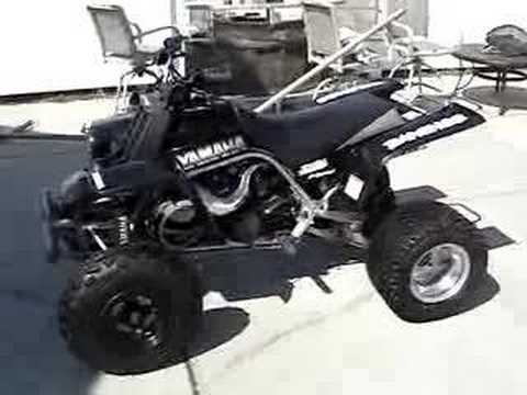 Black Yamaha Banshee