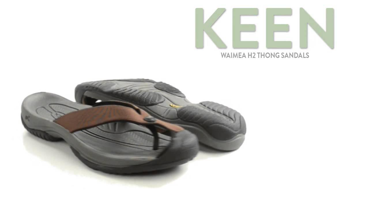 90037d3ff629 Keen Waimea H2 Thong Sandals (For Men) - YouTube