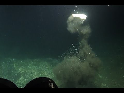 Explosive Methane Burst and Bubble Streams | Nautilus Live