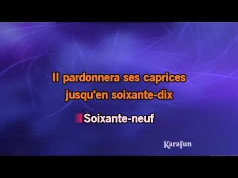 Karaoké 69 année érotique - Serge Gainsbourg *