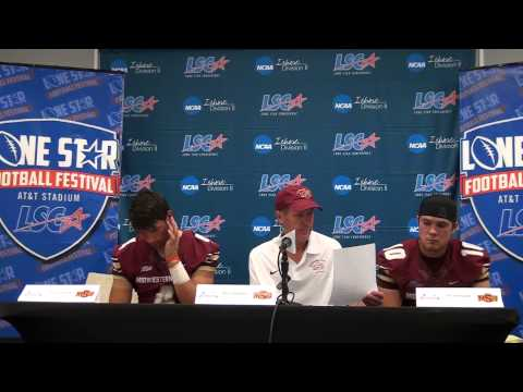 Midwestern State Press Conference - 2013 Lone Star Football Festival