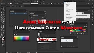Adobe Illustrator cc Workspace 2017
