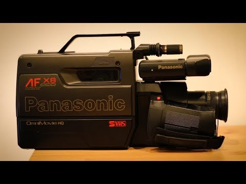 Using A Vhs Camera Youtube