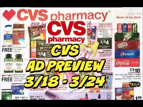 CVS EARLY AD PREVIEW FOR 3/18 -3/24 | Softsoap Body Wash, FREE candy & much more!