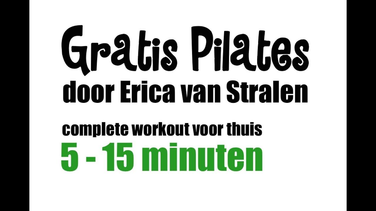 Pilates oefeningen super buikspieren 5 oefeningen youtube - Voor thuis ...