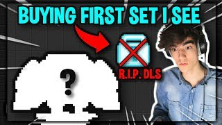 BUYING THE FIRST SET I SEE... (RIP DLS?!)   Growtopia