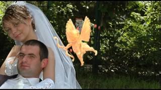 Свадебный видеоклип с анимацией.