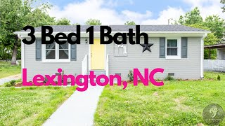 🌟Just Listed Great 3 bedroom🌟 721 Hyde Street Lexington NC