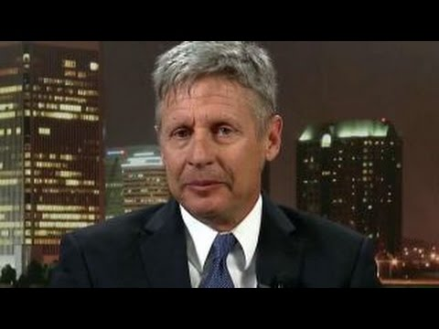 Gary Johnson: Third party is going to be the Libertarian Party