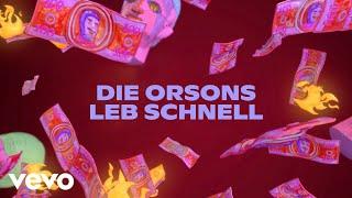 Die Orsons - Leb schnell (Lyric Video)