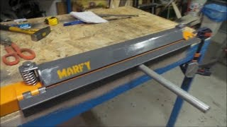 🔨 Piega lamiera ferro fai da te ( DIY Press Metal Brake for Bending Sheet Metal ) Homemade