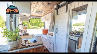DIY 136WB Ram ProMaster W/ Shower & Bathroom - Full Time Tiny House On Wheels