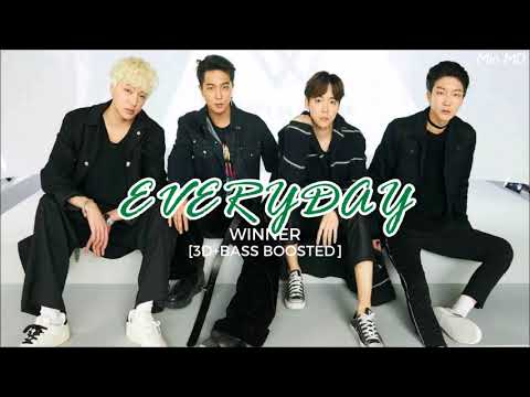 [3D+BASS BOOSTED] WINNER (위너) - EVERYDAY | Min MD