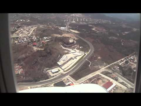 Aterrizaje en Toncontin - Abril 2012