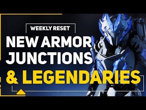 Anthem Cataclysm Week 3 Reset | Legendary Support Gear & Armor Set