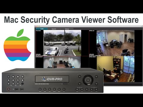 Mac Security Camera Viewer Software for iDVR-PRO CCTV DVRs
