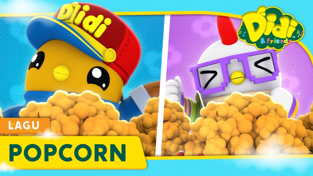 Popcorn | Didi & Friends Lagu Kanak-Kanak | Didi Lagu Baru