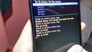 Moto G2 com erro failed to validate system image? Como resolver!